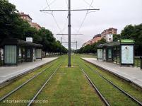 Parada con 2 andenes Intermodal